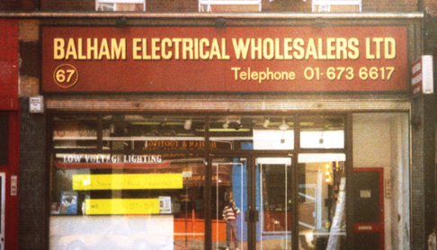 Our first store in Balham